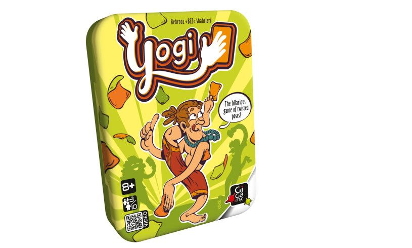 Yogi Hilarious game of twisted poses