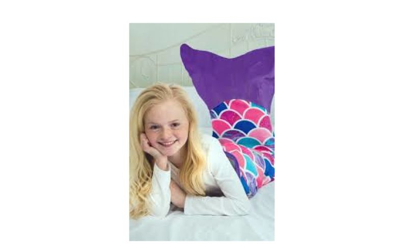 Mermaid blanket sea flower