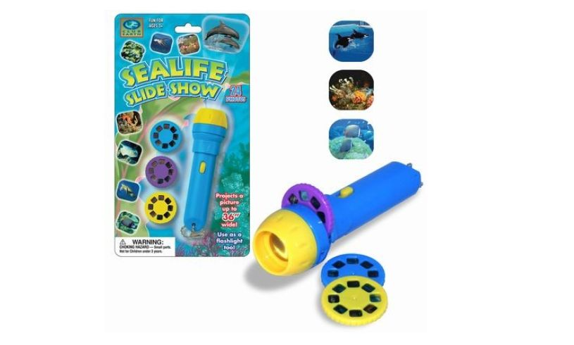 Sealife slide show flashlight