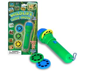 Wildlife slide show flashlight