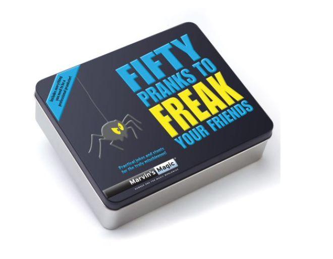 fifty pranks to freak your friends