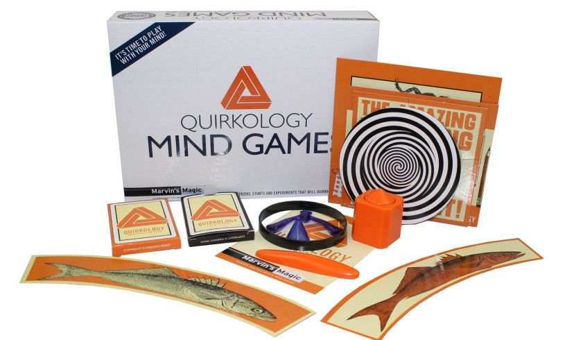 Quirkology Mind Games- Bamboozle your Brain