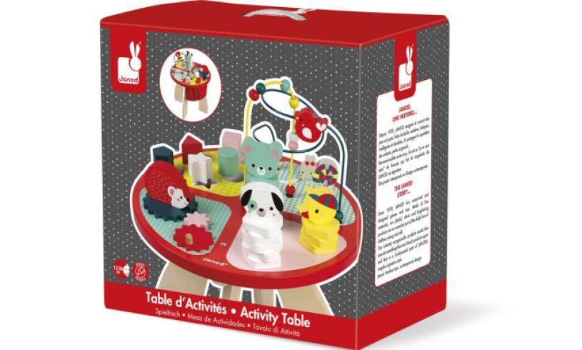 activity table box