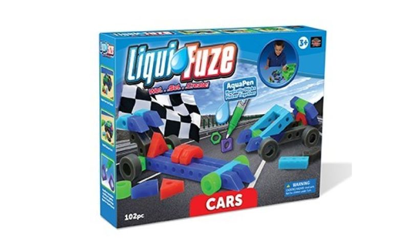 Liqui Fuze Blocks cars you make