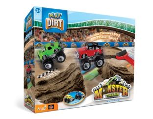 Monster truck rally  dirt included!