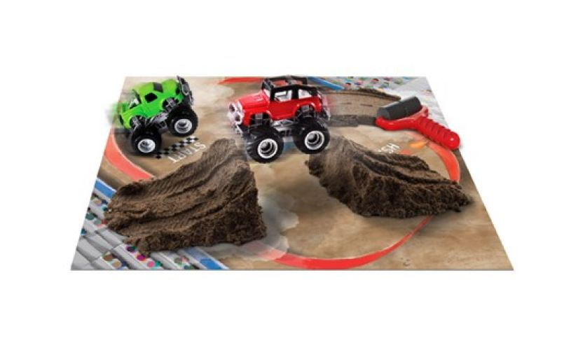 set the scene for monster trucks