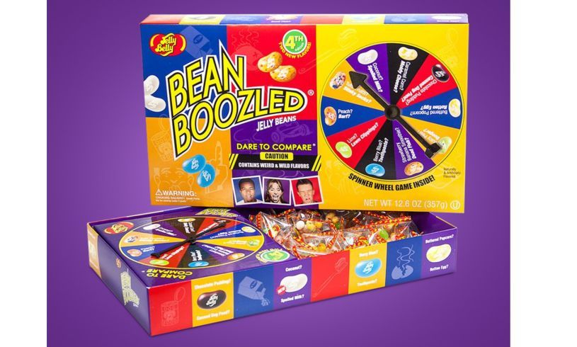 Jelly beans with game included