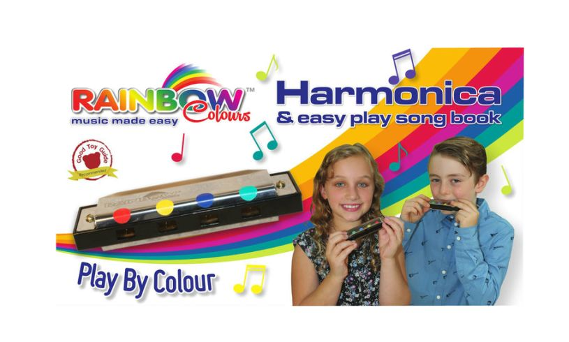 Harmonica and easy play song book