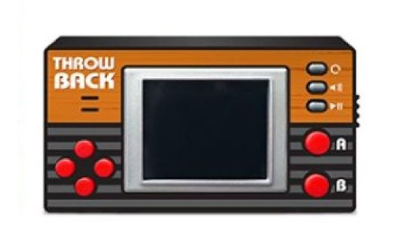 Throwback Pocket Video Console Content