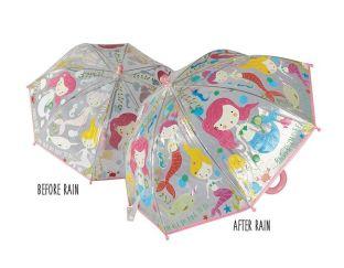 Color Changing Mermaid Umbrella