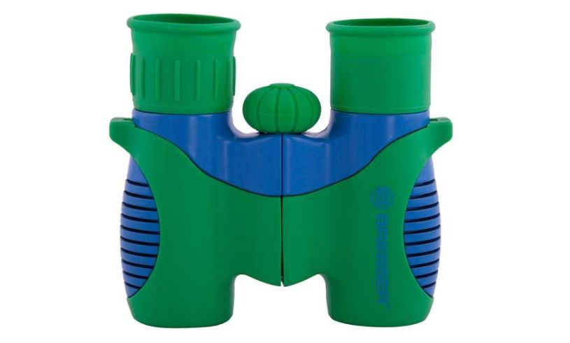 close up colorful binoculars