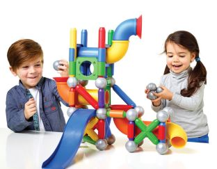 Mega Ball Run - Magnetic Construction Gifts | Age 4 Buy Toys for 4-Year-Old Boys