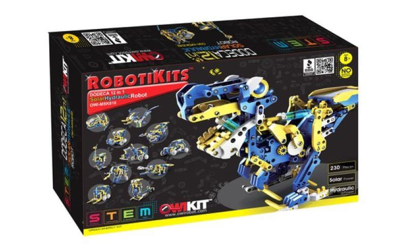 Solar Hydraulic Robot Box