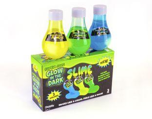 Glow in the dark slime 3 pack
