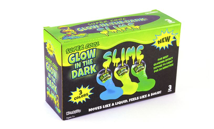 box of glow in the dark slime