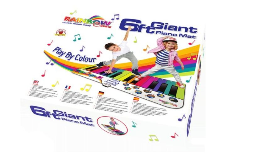 box of 6ft giant piano mat
