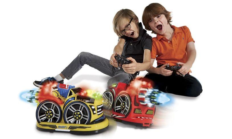 Kid Galaxy Control bumper cars