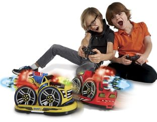 Kid Galaxy Control bumper cars