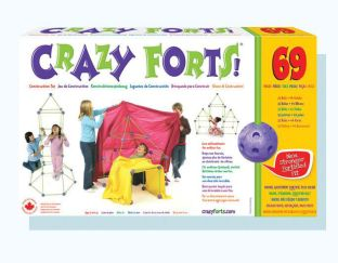 Crazy Forts - 69 Durable Pieces