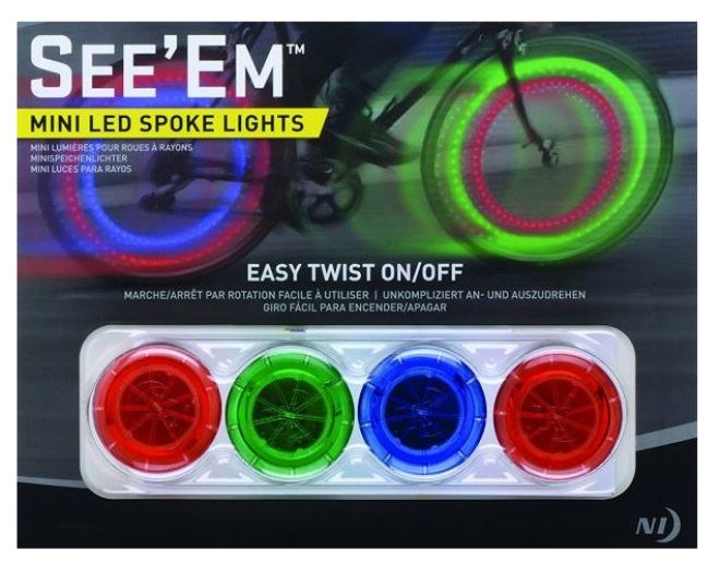 See 'Em Mini LED Spoke Lights