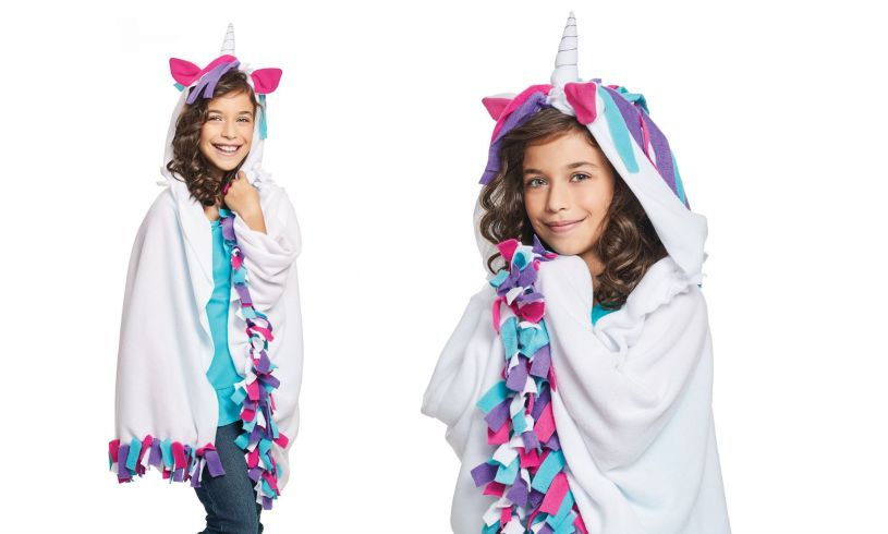 Unicorn Hoodie Blanket - Make Your Own