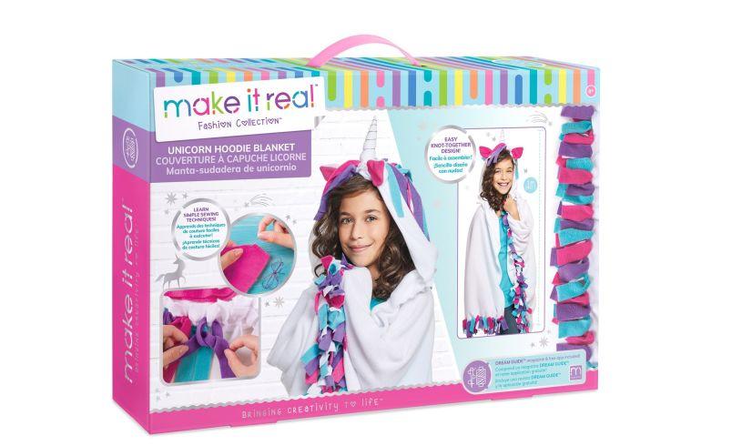 Unicorn Hoodie Blanket - Make Your Own box