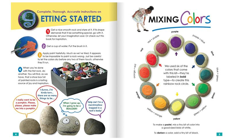 Rock Painting - Decorate Your World