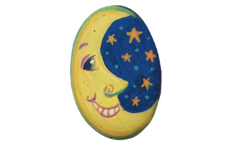 Rock Painting - Decorate Your World display