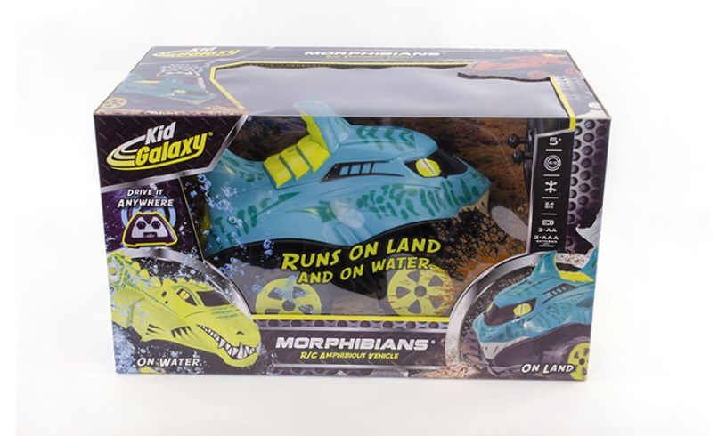 Kid Galaxy Morphibians shark car
