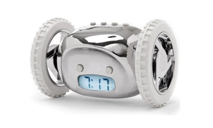 Clocky runaway alarm clock