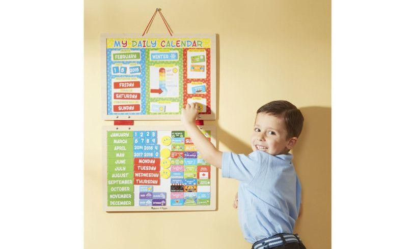 My Magnetic Daily Calendar Kid