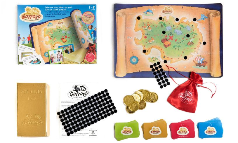 materials with treasure hunt game