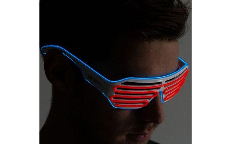 LED Light Up Glasses Lifestyle