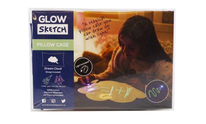 Glow Sketch Pillowcase Pack