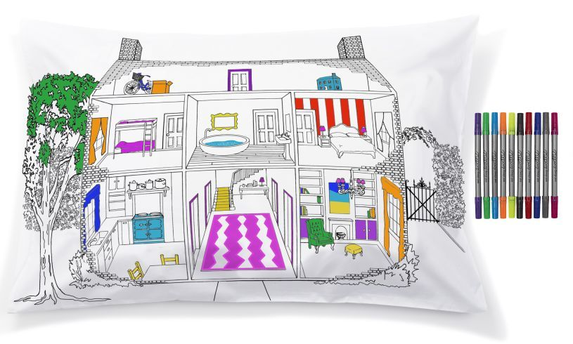 Home Decorator Pillowcase Detail
