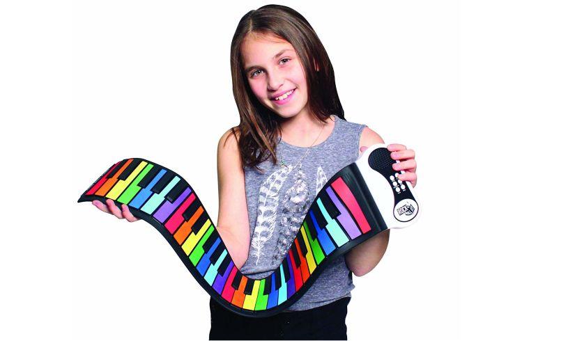Rainbow flexible roll up piano Mukikim