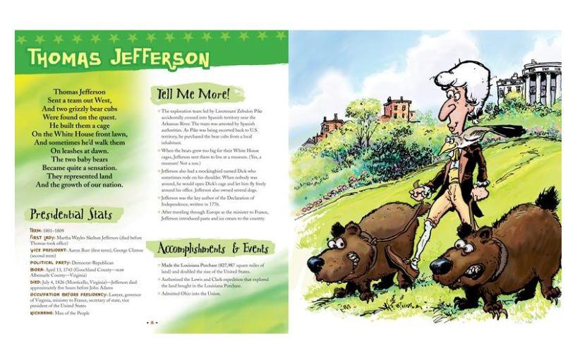 Presidential Pets Jefferson