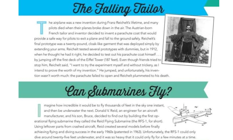 Inventions that Could Have Changed the World... Tailor