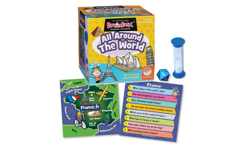 All Around the World - Brainbox Contents