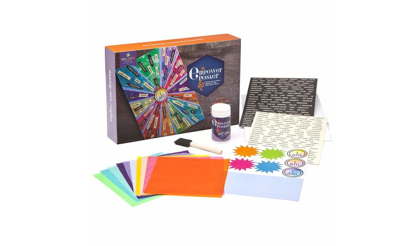 Contents of Empower Poster Kit