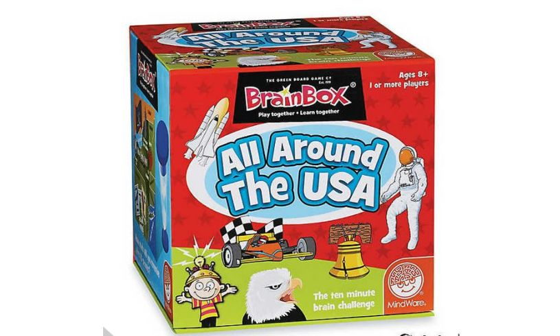 All Around the USA - Brainbox