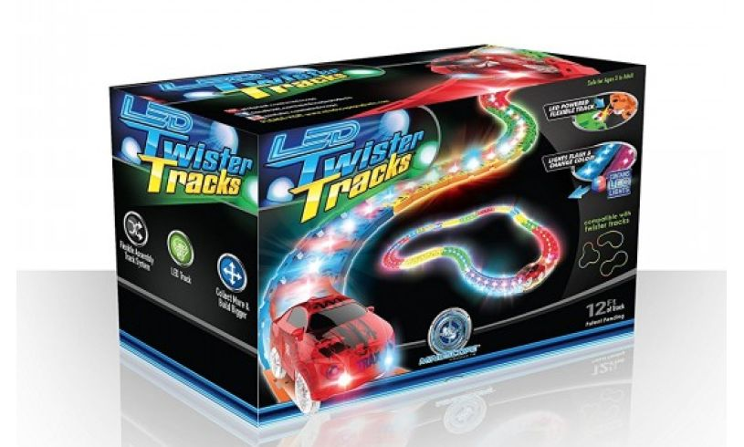box of Twister tracks and racer