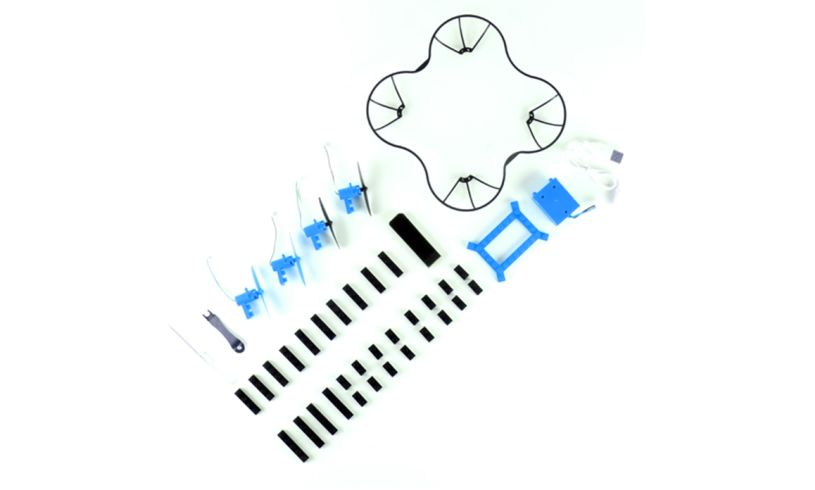 Build-a-Drone - 3 Configurations display