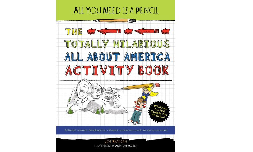The Totally Hilarious All About America Activity Book