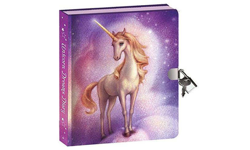 Unicorn Dreams Invisible Ink Diary