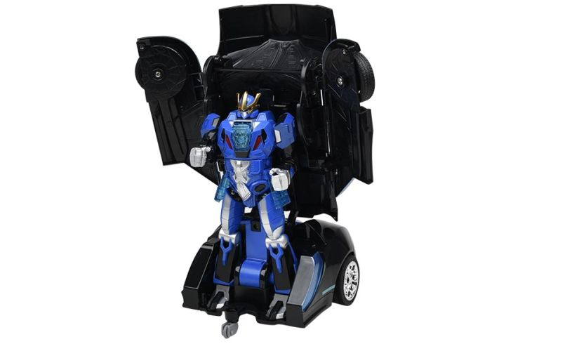 Auto Moto Transforming Robot Car