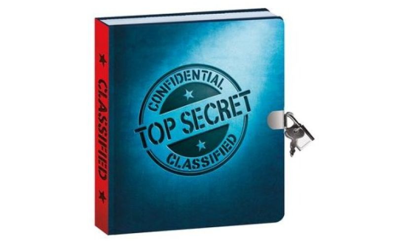 Top Secret Invisible Ink Journal