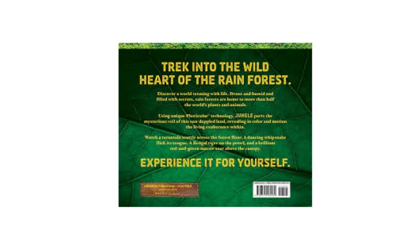 Jungle Photicular Book back