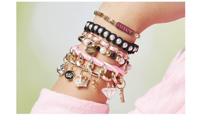 Juicy Couture DIY Chain and Charm Bracelet Kit arm