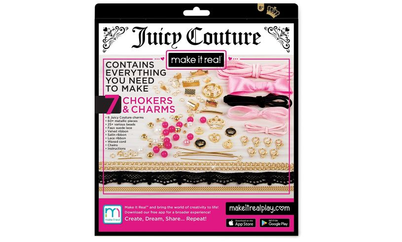 Juicy Couture DIY Chain and Charm Bracelet Kit box